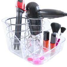 Chrome Hair Dryer Tongs Straightener Mount Stand Holder Tidy Organiser Storage