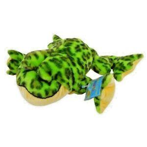 "Ganz Webkinz Bullfrog 9"" Plush Spotted Stuffed Animal Toy HM114 Sealed Code"