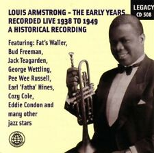 LOUIS ARMSTRONG - Early Years Recorded Live 1938-1949 (Jazz) CD [B16]