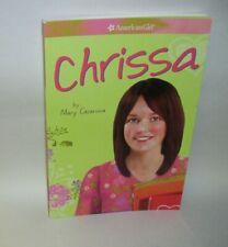 2009 An American Girl Book Chrissa