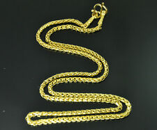 """Airy unisex chain 22K 23K 24K Thai baht GOLD GP necklace 24"""" Jewelry 022"""