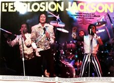 MICHAEL JACKSON => 7 pages 1984 FRENCH CLIPPING !!!