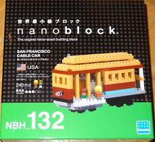 San Francisco Cable Car Nanoblock Micro Sized Building Block Kawada NBH132 Mini