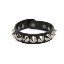 Punk/ Rock/Gothic/Biker Metal Rivet Leather Bracelet