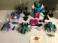 1988 Piranacon 100% Complete G1 Transformers Seacons
