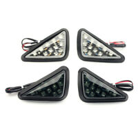 Front LED Turn Signal Light Indicator For SUZUKI GSX-R 125/150/200/600/750/1000