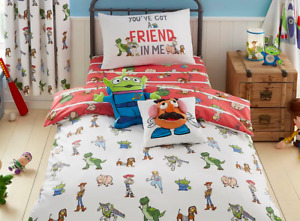Disney Toy Story Toddler Bed or Single Duvet Cover Sets / Fitted Sheets
