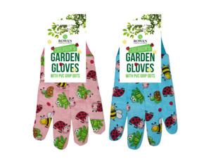 Childrens Gardening Gloves- Kids Boys Girls Fun Garden Tool Hand Plant Safety