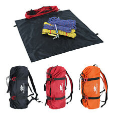 NEW Tree Arborist Rock Climbing Rope Cord Gear Carry Bag Backpack + Ground Sheet