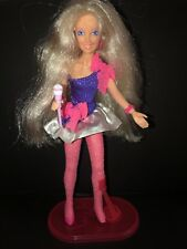 Vintage Jem Rock N Curl Doll Truly Outrageous. Beautiful Hair!