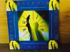 "Simple Minds Kick It in 12"" Vinyl UK Virgin 1989 3 Track LP Version in Limited"