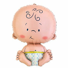 XL 80cm Unisex Baby Boy Girl Foil Balloon Baby Shower Christening Newborn Party