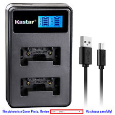 Kastar Battery LCD Dual Charger for Fuji NP-45 NP45A BC45 Fujifilm FinePix JV200