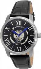 Invicta 22600 42mm Objet d'Art Automatic Skeletonized Leather Strap Men's Watch