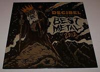 DECIBEL BEST METAL of 2012 Heavy Metal Promo LP Kreator Testament NEVER PLAYED