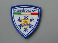 PATCH MAESTRO SCI COLLEGIO VENETO RICAMATA TERMOADESIVA CM 7X7,5