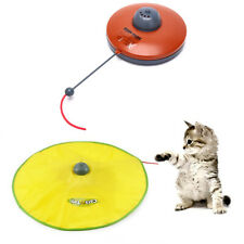 Interactive Cat Toy Electric Turntable Cat Training Funny Cat Spinning Chase  ZC
