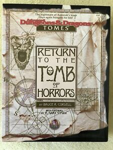 Advanced Dungeons & Dragons Return to The Tomb of Horrors Boxed Set TSR 1162