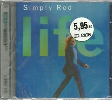 CD Simply Red-Life.Los Discos de tu Vida 22.El País.Nuevo.Sellado.