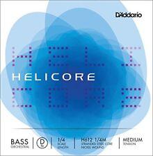 1003043 D'addario H612-1/4m Helicore - Corda Re per Contrabbasso 1/4 rivestita
