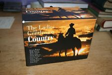 The Ladies and Gentlemen of Country 20 Album CD boxset - Nelson Parton Rogers