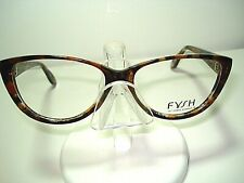 NEW AUTH FYSH EYEGLASSES 3492 BROWN 306