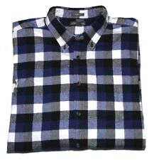 79de3e973 Flannel Big & Tall Button-Front Casual Button-Down Shirts for Men | eBay