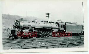 1C010 RP 1940s BALTIMORE & OHIO RAILROAD 4-8-4 LOCO #5575