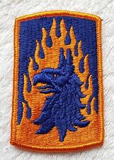 US ARMY PATCH 12th Aviation Brigade Colour Class A Uniform Badge United States