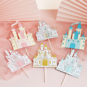 Palace Princess Cake Topper for Wedding Birthday Baking Supplies Party DecorSJCA