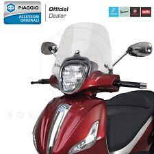 PARABREZZA CUPOLINO COMPLETO TRASPARENTE PIAGGIO 674541 BEVERLY 125 300 350