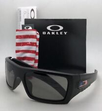 OAKLEY INDUSTRIAL DET-CORD Safety glasses OO9253-11 Black USA Flag w/ Grey Z87.1