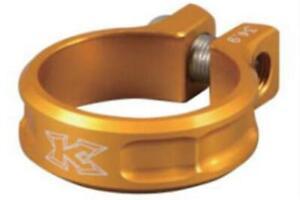 KCNC SC11 Screw Seatpost Clamp Golden 34.9mm