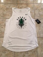 MENS NIke Oregon Track & Field Club Singlet Miler New sz Medium dri fit run top
