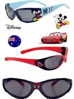 Children Boy Kids Mickey Spiderman McQueen Car UV protect beach eye sunglasses