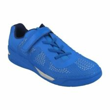 Calzado de niño azul de encaje de color principal azul
