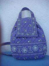 EUC Rare Vera Bradley Purple Bandana Mimi Backpack