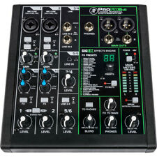 Mackie PROFX6v3 Professional 6 Channel Mixer w/ Effects