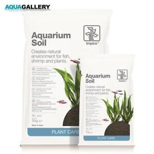 Tropica Aquarium Soil 3L. Aquarium Soil for Planted, Shrimp, Fish Tank