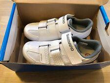 Brand New Boxed Ladies Shimano RP2 SPD SL Road Shoes, White, EU 40