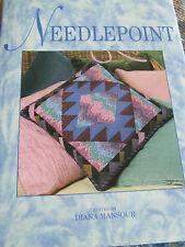 HARDBACK NEEDLEPOINT MARSHALL CAVENDISH 1992 STITCHES DESIGN SAMPLERS FURNISHING