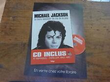 MICHAEL JACKSON - Publicité de magazine / Advert LIVRE SOUVENIR !!!