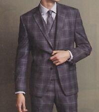 Lauren Ralph Lauren Blazer Size 40R Men Wool Suit Jacket Charcoal Windowpane