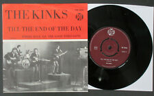 "The KINKS Till The End Of The Day 1965 SWEDEN 7"" Unique PICTURE SLEEVE 45 Davies"