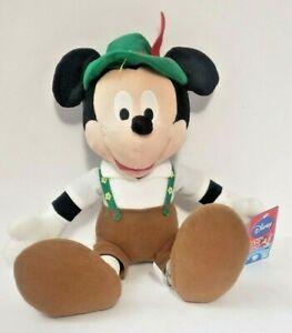 """NWT Disney SEGA Game Prize 15"""" Plush Mickey Mouse Around The World GERMANY 7"""