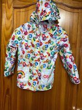 Shopkins Rain Jacket Fleece Lined Age 6-7 Years Hooded