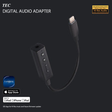 TEC Apple Lightning DAC Hi-Resolution Amplifier Cable with Charging for iPhone