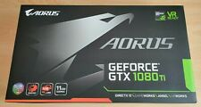 GIGABYTE AORUS GeForce GTX 1080 TI GDDR5X 11GB Graphics Card - VG condition