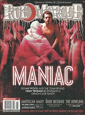 Rue Morgue magazine Maniac Elijah Wood American Mary The Howling Poster art
