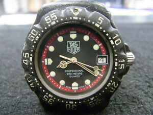 Authentic Swiss Tag Heuer F1 Man's 200M Diver Watch